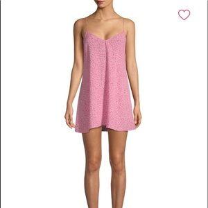 For Love & Lemons Slip Dress in Watermelon. XS.
